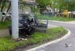 Hyundai Accent врезался в столб, 26-летний водитель погиб в Ростовской области