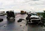 Жуткая авария на трассе М4, лоб в лоб столкнулись Mazda CX-7 и «Газель», погибли мать и ребенок (ВИДЕО)