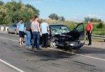 Водитель Lada Kalina погиб, протаранив Lexus