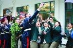 Десять воспитанников Белокалитвинского кадетского корпуса в составе российской делегации побывали в Китае на молодежном форуме