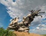 В Ростовской области вандалы разграбили памятник героям Гражданской войны