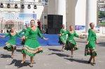 В Белой Калитве на площади Театральной состоялся праздничный концерт и молодежный флеш-моб в честь Дня города