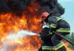 Сгорел строительный вагончик рядом с г. Шахты, пострадал мужчина