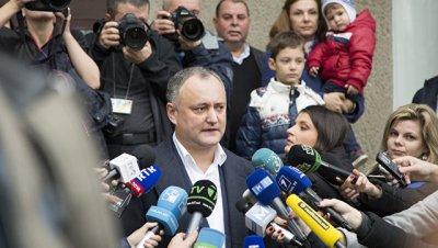 Президентом Молдавии стал Игорь Додон с 52,18% после подсчета 100% голосов