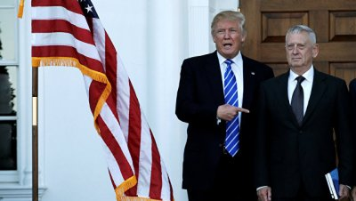 Трамп подтвердил, что рассматривает Мэттиса на пост главы Пентагона