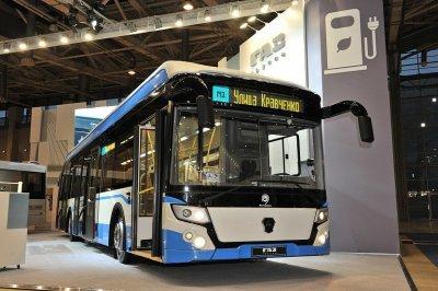 «Группа ГАЗ» представила электробус большого класса
