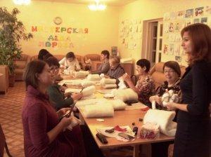 В ЦСО Белокалитвинского района прошел мастер - класс