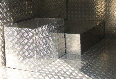 В главном городском предприятии Белой Калитвы выпущена первая партия рифлёного листа из нового алюминевого сплава