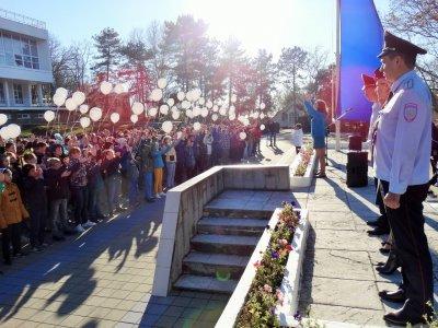 ВО всеросиыйском слёте юных инспекторов дорожного двидения принял участие житель Белой Калитвы
