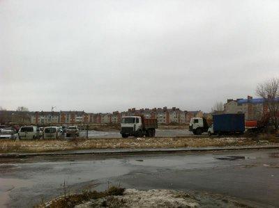 На Намыве в Белой Калитве начали рыть котлован для нового дома