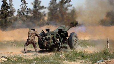 армия Сирии приостановила наступление боевиков ИГ близ Пальмиры