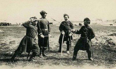 В поселке Шолоховском прошел Выездной Совет атаманов