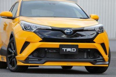 Кроссовер Toyota C-HR обзавелся тюнинг-китами от TRD и Modellista