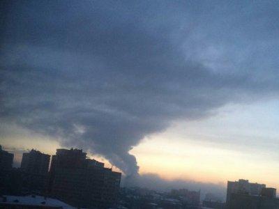 Дым в Ростове испугал горожан