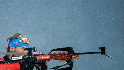 Россиянин Шипулин занял 2-е место в пасьюте на этапе КМ по биатлону в Чехии