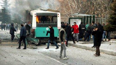В Турции задержали семь человек в связи со взрывом в Кайсери