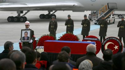 Турецкие политики выступили с прощальными речами в память об убитом после