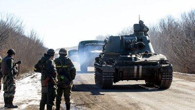В Киеве заявили, что не планируют атаковать ополченцев в районе Дебальцево