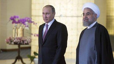 Путин и Роухани условились о координации по урегулированию кризиса в Сирии
