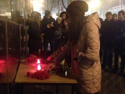 Акция памяти жертв крушения Ту-154 состоялась в Ростове