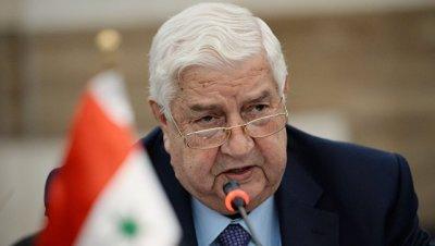 Глава МИД Сирии заявил, что не доверяет Турции в вопросе перемирия