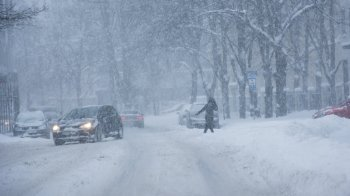 В Ростовской области ожидаются шквалистый ветер, гололед и метель