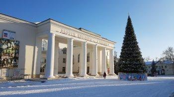 В Белой Калитве выпал снег и морозно - видео-зарисовка