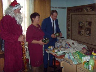 Новогодние торжества в социально реабилитационных отделениях Белокалитвинского района