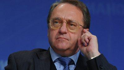 Богданов провел переговоры с группой сирийских оппозиционеров