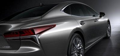 Новое поколение Lexus LS оснастили мотором V6 с турбонаддувом