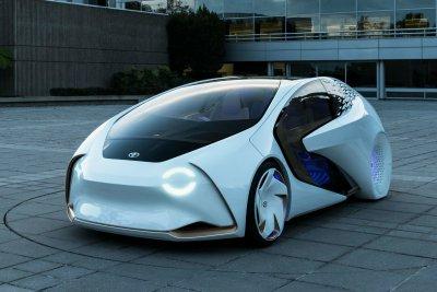 Дизайнеры Toyota создали концепт, который общается с водителем