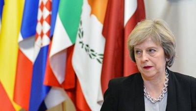 Британия будет настаивать на сохранении санкций против России, заявила Мэй