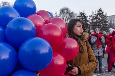 В честь 500 дней до старта ЧМ-2018 ростовчане запустили в небо сотни шариков