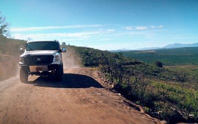 Ниссан построил микроавтобус для бездорожья с 5,0-литровым дизелем