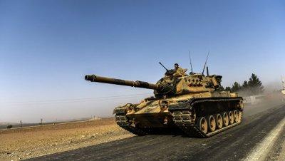 Турция недовольна степенью поддержки коалицией операции на севере Сирии