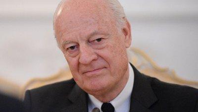 Де Мистура отведет умеренной оппозиции Сирии два места в делегации в Женеве