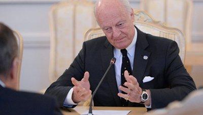 Де Мистура: ситуация в Восточной Гуте угрожает срывом переговоров в Женеве