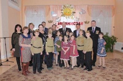 В Центре внешкольной работы Белокалитвинского района прошёл месячник военно-патриотического воспитания