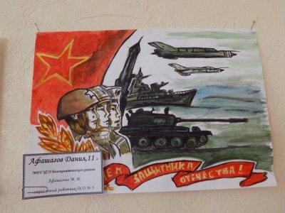 В ЦСО Белокалитвинского района прошла выставка детского рисунка