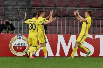ФК «Ростов» впервые в своей истории вышел в 1/8 финала Лиги Европы