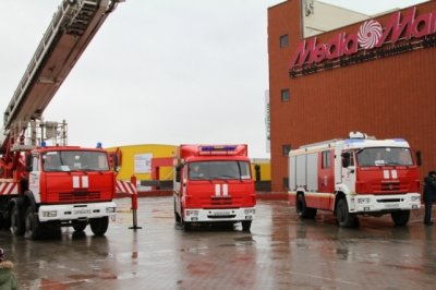 Выставка военной и пожарной техники прошла вчера в Ростове