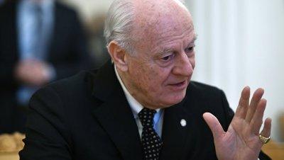 Де Мистура озвучил предложения участникам переговоров по Сирии в Женев