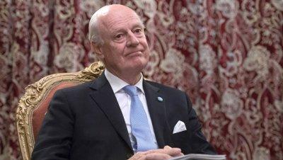 Де Мистура передал сторонам встречи в Женеве предложения по переговорам