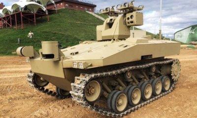 Концерн «Калашников» разрабатывает новейших боевых роботов