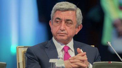Саргсян заявил, что Ереван отпразднует мир в Карабахе армянским коньяком