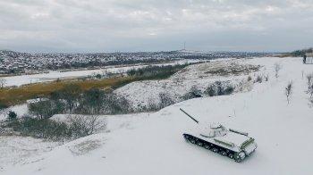 Белую Калитву засыпало снегом ВИДЕО