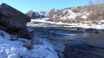 Солнечный и морозный день в Белой Калитве первое февраля Видео ролик