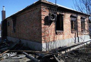 На Новостройке в Шахтах сгорел жилой дом