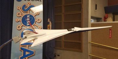 В NASA начали испытания миниатюрного прототипа сверхзвукового самолета