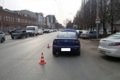 В центре Ростова водитель MAN сбил 25-летнего мужчину